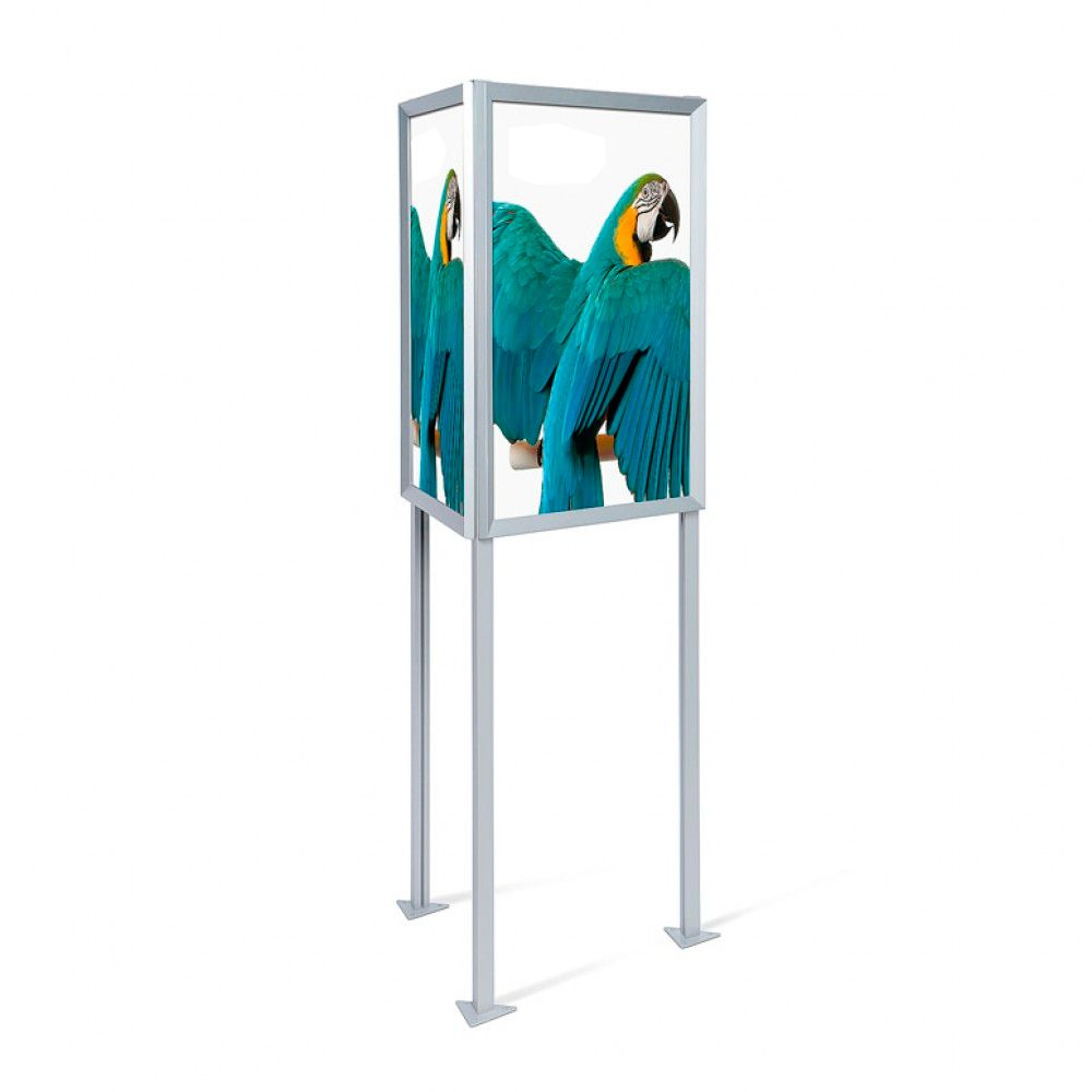Poster board stand display