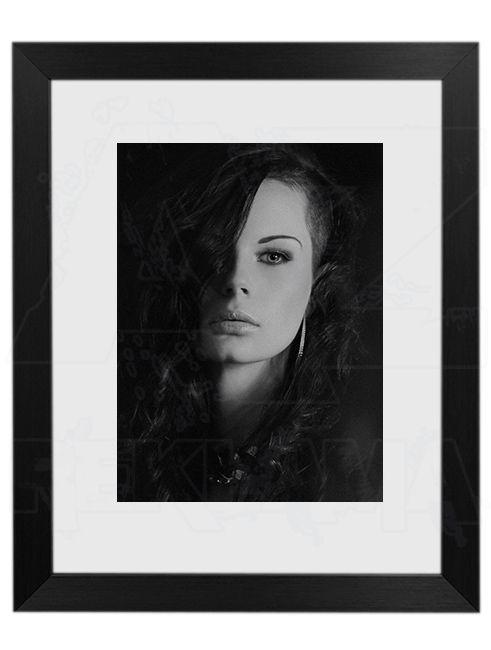 Hliníkový Foto rámeček 30 Černá A4