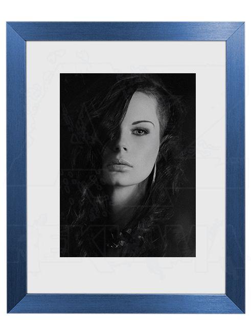 Hliníkový Foto rámeček 30 Modrá A4