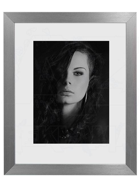 Hliníkový Foto rámeček 30 Stříbrná 60x80 cm