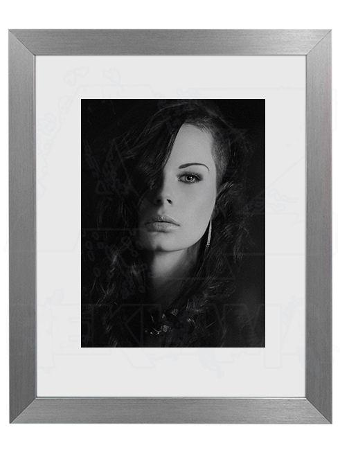 Hliníkový Foto rámeček 30 Stříbrná A4