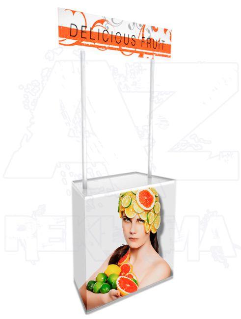 Plastový Promostolek pro hostesky - APOLLO A-Z Reklama CZ