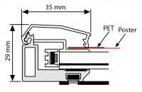 Světelný rám Smart Ledbox 35 - A2 Jednostranný A-Z Reklama CZ