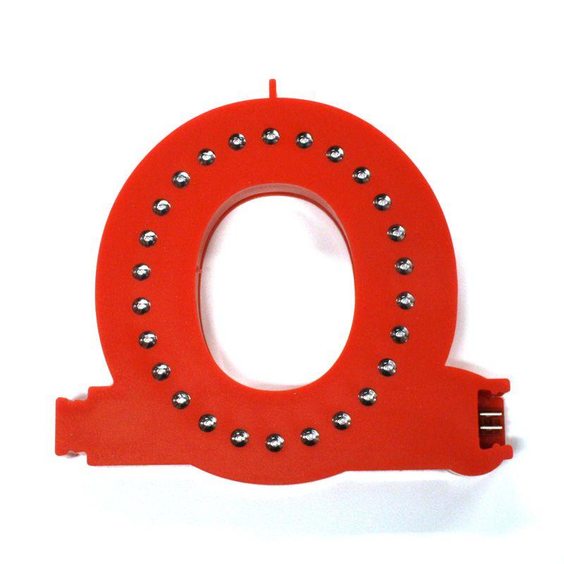 Modulární světelné LED písmeno abecedy - O