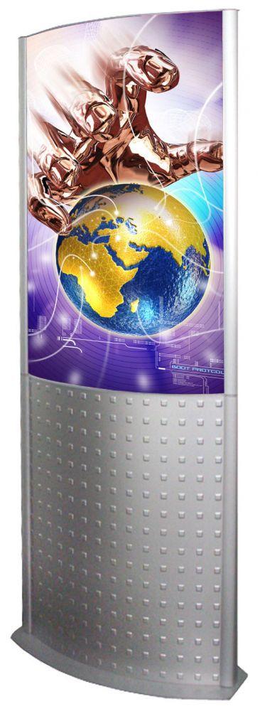 Světelný Decorative Totem s rámem na plakát B2 A-Z Reklama CZ