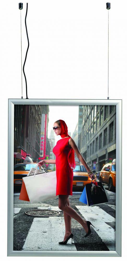 Světelný rám Smart Ledbox 35 - A0 Oboustranný