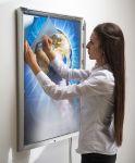 Uzamykatelný světelný rám Smart Ledbox 35 - B1 A-Z Reklama CZ