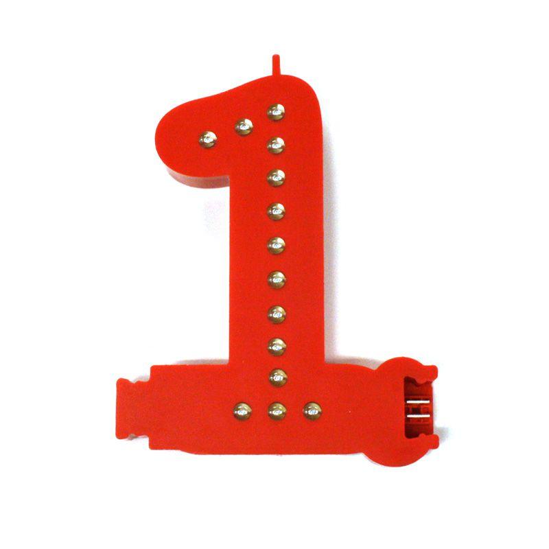 Modulární světelná LED číslice - 1