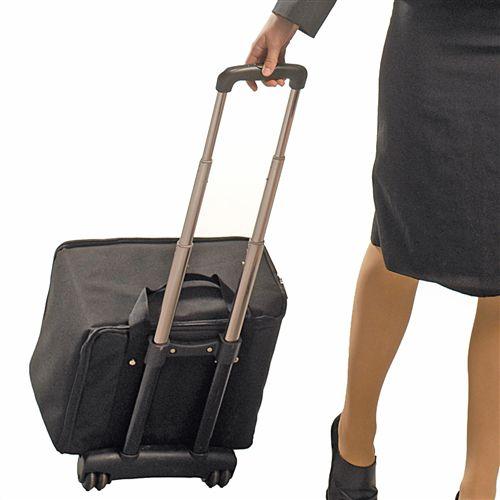 Pojízdný cestovní kufr na stojan Swing Up A-Z Reklama CZ
