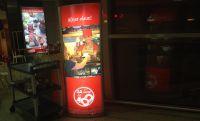 Světelný reklamní Totem na plakát 600x1700 A-Z Reklama CZ