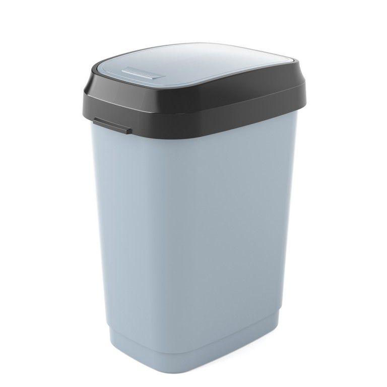 Koš na odpadky Dual Swing Bin M - 25 litrů, Šedý