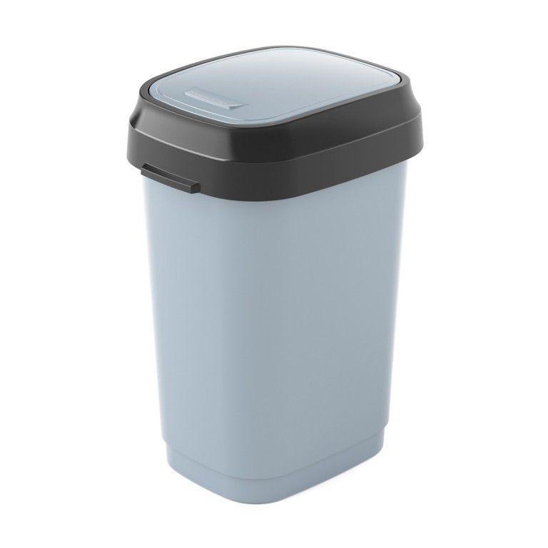 Koš na odpadky Dual Swing Bin S - 10 litrů, Šedý
