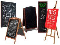 Dřevěné popisovatelné tabule