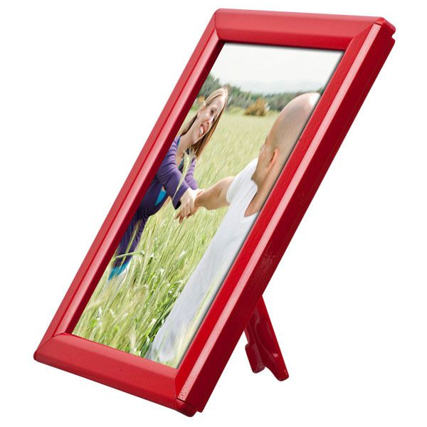 Foto rámeček na stůl i stěnu Opti Frame A5 - Červený