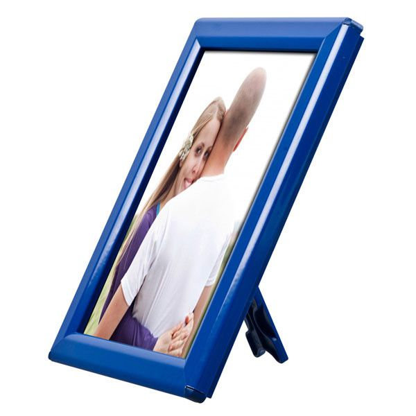 Foto rámeček na stůl i stěnu Opti Frame A5 - Modrý
