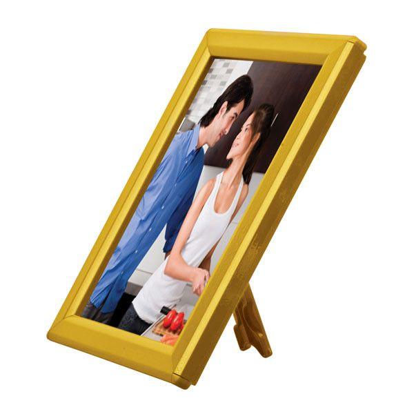 Foto rámeček na stůl i stěnu Opti Frame A5 - Žlutý