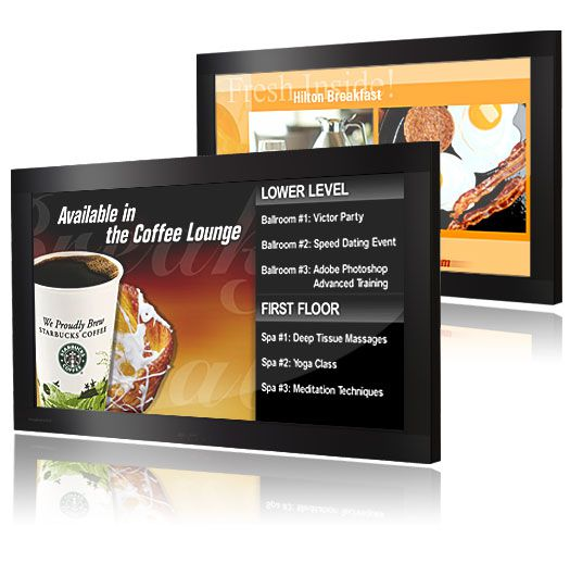 LCD TFT - nástěnný Viper Digital Board bez zvuku