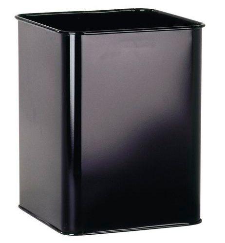 Kovový odpadkový koš 18,5 - Černý