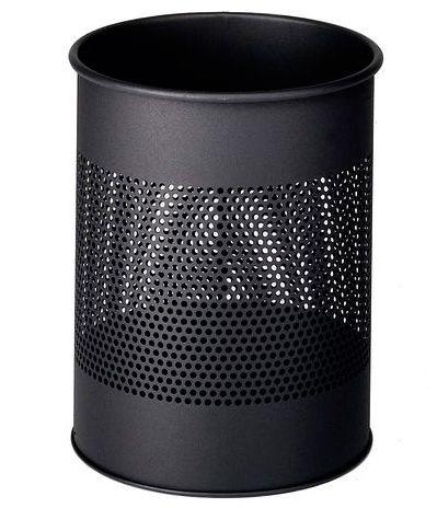 Kovový odpadkový koš 15/P165 - Charcoal