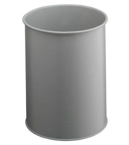 Kovový odpadkový koš 15 - Šedý