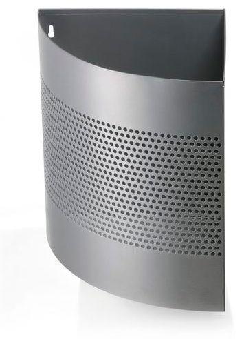 Odpadkový koš rohový DURABLE 16/P165 - Stříbrný