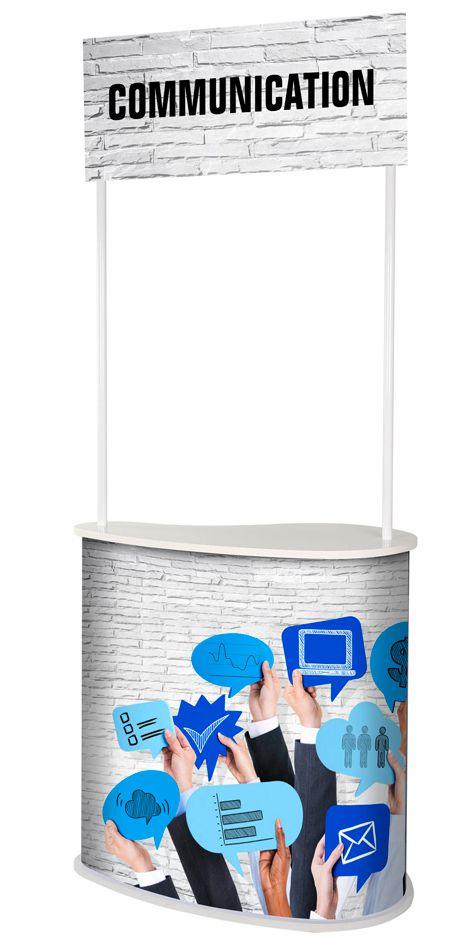Promostolek pro hostesky SEED s Topperem A-Z Reklama CZ