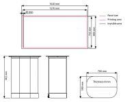 Pult Hardcase Pop-up Counter - Černý top A-Z Reklama CZ