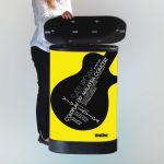 Pult Hardcase Pop-up Counter - Černý top s tiskem A-Z Reklama CZ