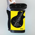 Pult Hardcase Pop-up Counter - Dřevěný top s tiskem A-Z Reklama CZ