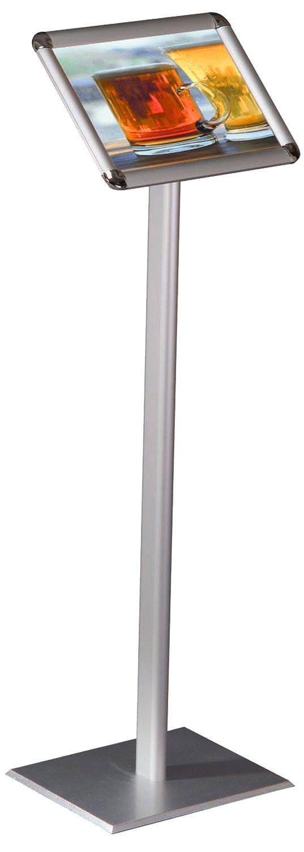 Stojan na noze - Classic Menuboard A4 - Oblý roh