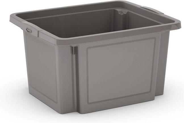 KIS Plastový úložný box - H Box S, šedý, 23 L