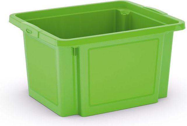 KIS Plastový úložný box - H Box S, zelený, 23 L