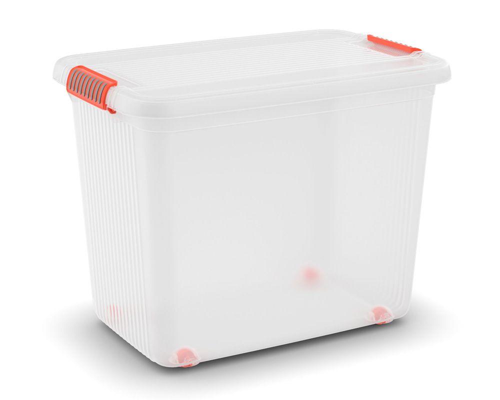 KIS Plastový úložný box - K Latch Box XXL, Transparentní