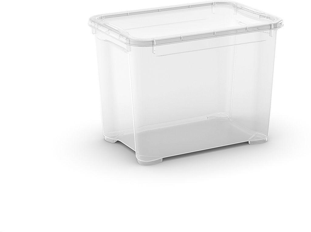 KIS Plastový úložný box - T Box S, Transparentní, 20 L