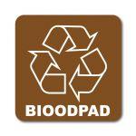 Samolepka 12x12 Bioodpad