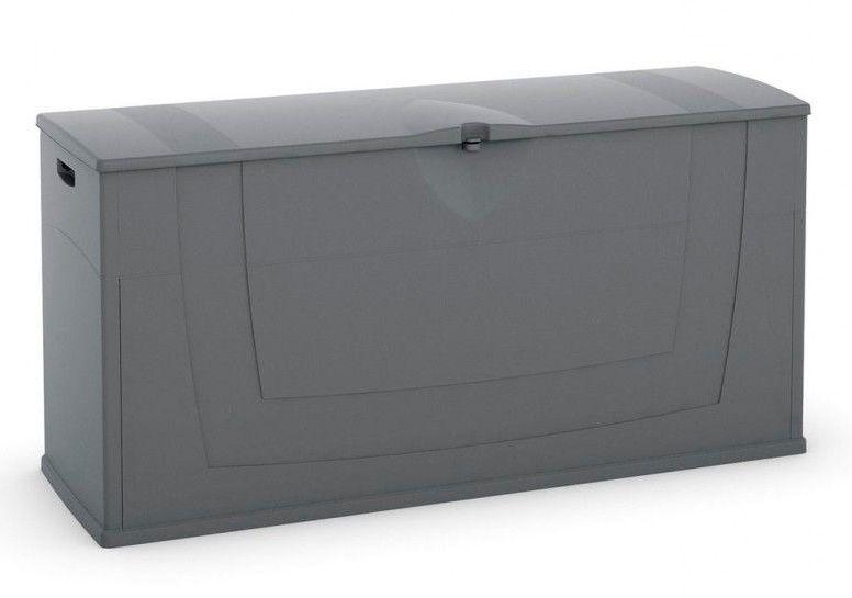 KIS Skladovací box Karisma tmavě šedý, Objem 197 litrů