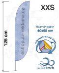 Konvex XXS 125cm Basic oboustranný tisk