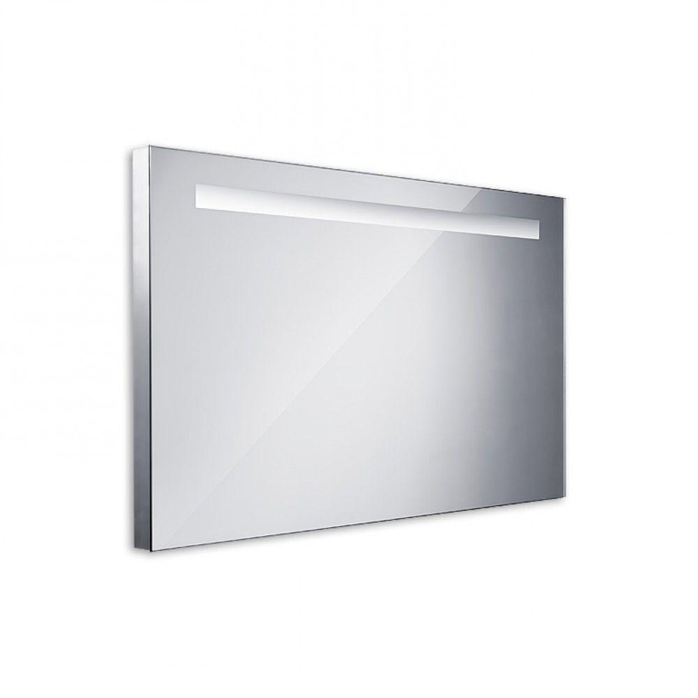 Koupelnové podsvícené LED zrcadlo 1000x600 - ostré hrany