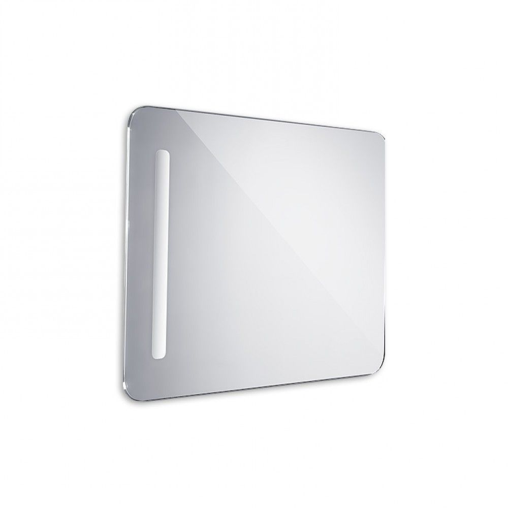Koupelnové podsvícené LED zrcadlo 500x700 - oblé hrany
