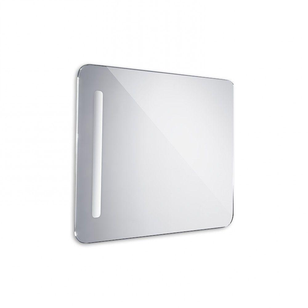 Koupelnové podsvícené LED zrcadlo 600x800 - oblé hrany