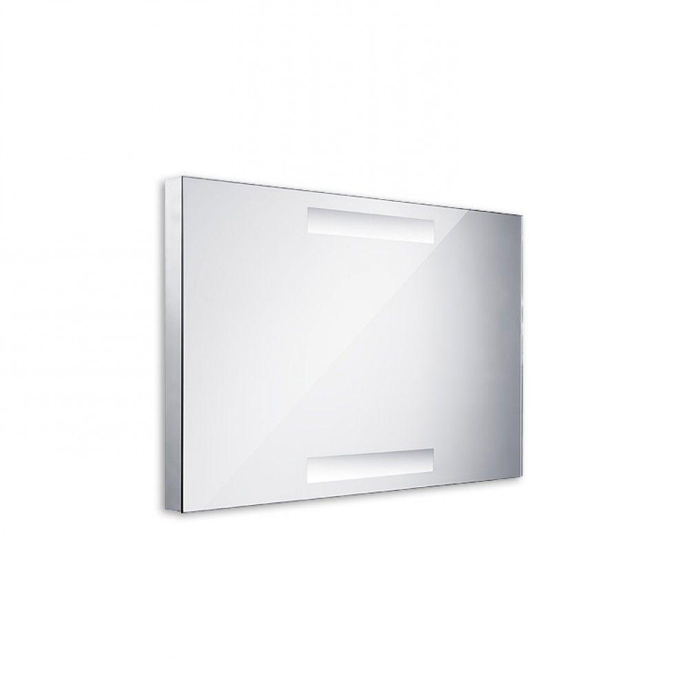 Koupelnové podsvícené LED zrcadlo 800x500 - ostré hrany