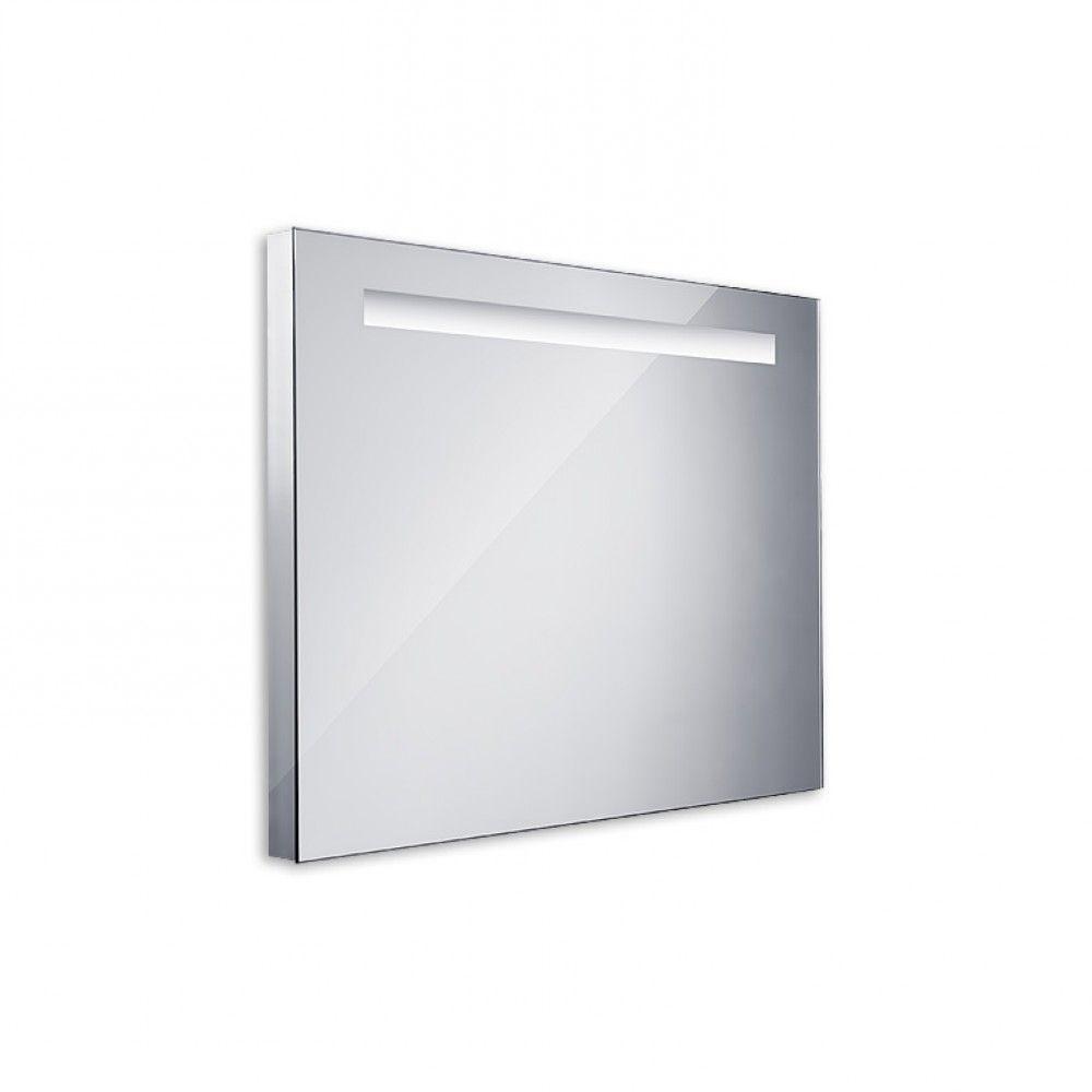 Koupelnové podsvícené LED zrcadlo 800x600 - ostré hrany