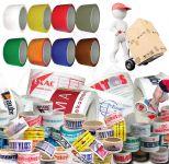 Bílá potištěná lepící páska 50mm 1 barva tisku A-Z Reklama CZ