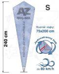 Crystal S 240cm jednostranný tisk