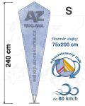 Crystal S 240cm oboustranný tisk