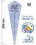 Crystal M 335cm oboustranný tisk