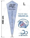 Crystal L 490cm jednostranný tisk