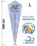 Crystal L 490cm oboustranný tisk