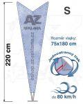 Dart S 220cm jednostranný tisk