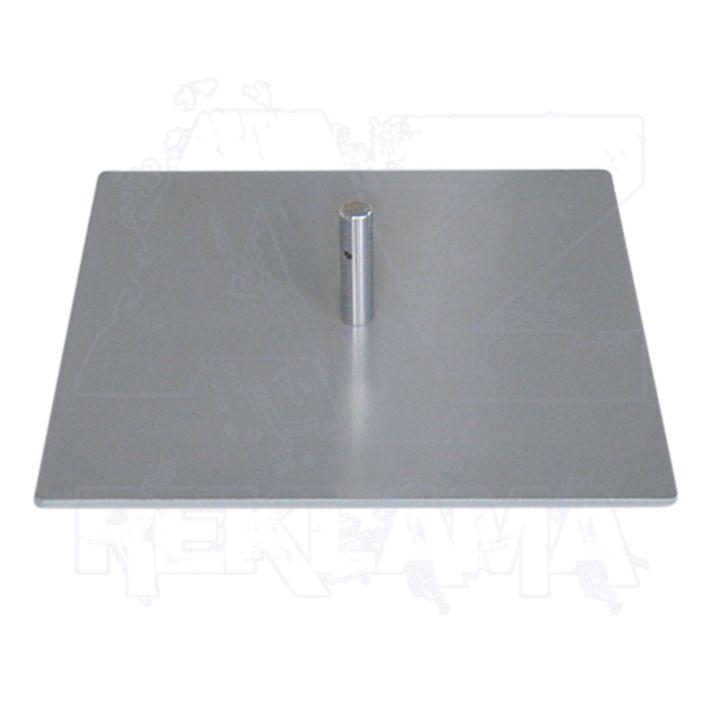Ocelová deska Stojan 40x40cm bez rotátoru